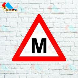 Magnetinis lipdukas M (mokomasis)