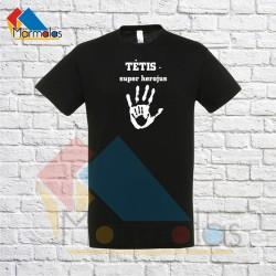 Marškinėliai TĖTIS SUPER HEROJUS