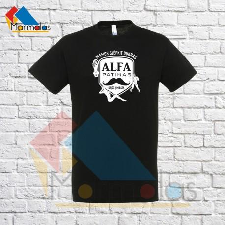 Vyriški marškinėliai ALFA PATINAS