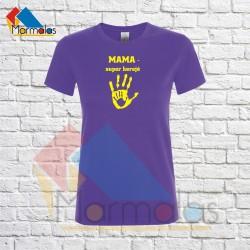 Marškinėliai MAMA SUPER HEROJĖ