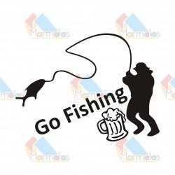 Lipdukas GO FISHING
