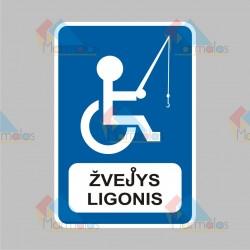Lipdukas ŽVEJYS LIGONIS