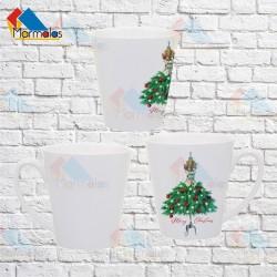 Latte L puodelis MERRY CHRISTMAS (su suknele)